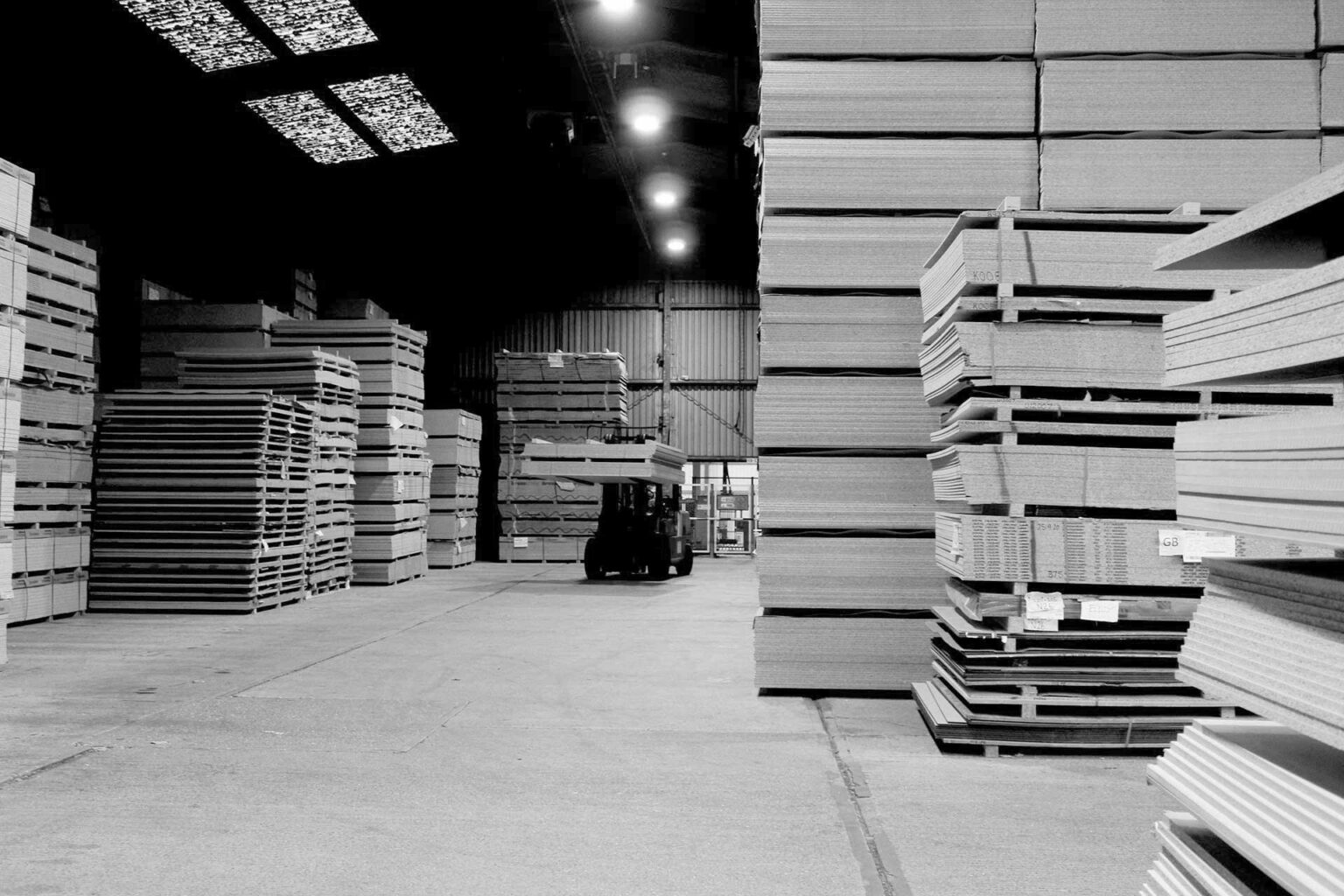 product stock in warehouse