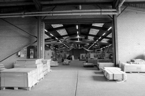 panel production factory